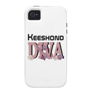 Keeshond DIVA Case For The iPhone 4