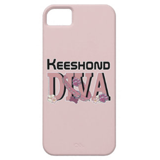 Keeshond DIVA iPhone 5 Cases