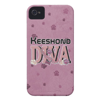 Keeshond DIVA Case-Mate iPhone 4 Cases