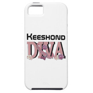 Keeshond DIVA iPhone 5 Cover