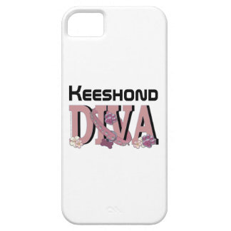 Keeshond DIVA iPhone 5 Covers