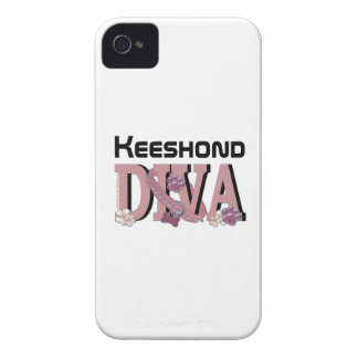Keeshond DIVA iPhone 4 Cover