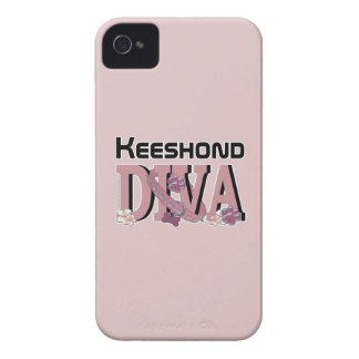 Keeshond DIVA iPhone 4 Case-Mate Cases