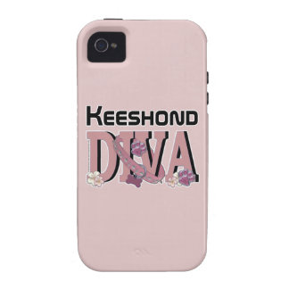 Keeshond DIVA iPhone 4 Case