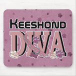 Keeshond DIVA Mouse Pad