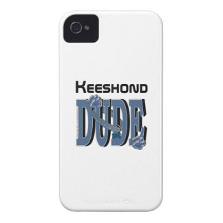 Keeshond DUDE iPhone 4 Cover