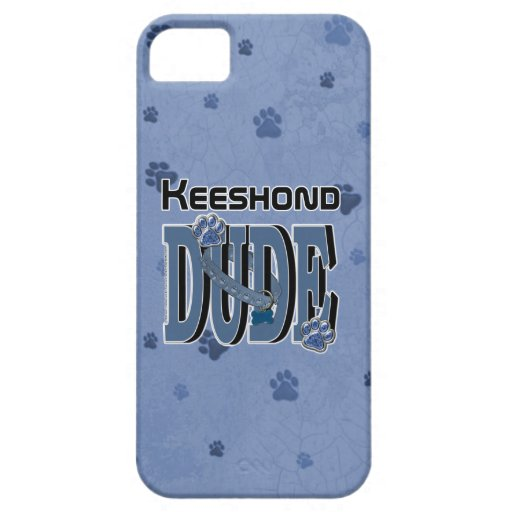 Keeshond DUDE iPhone 5 Case