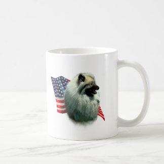 Keeshond Flag Mug