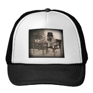 Keeshond Gentleman s Afternoon Trucker Hat