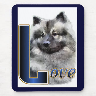 Keeshond Gifts Mouse Pad