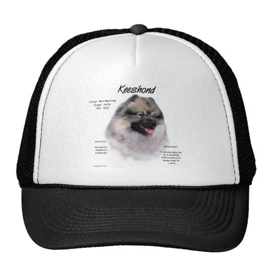 Keeshond History Design Trucker Hat