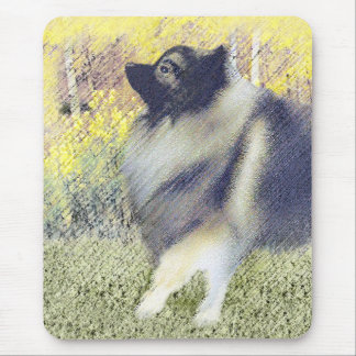 Keeshond in Aspen Mouse Pad
