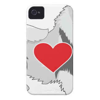 Keeshond iPhone 4 Case-Mate Cases