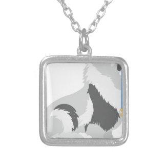 Keeshond Leash Custom Necklace