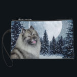 "Keeshond Mini Clutch<br><div class=""desc"">This clutch is a great gift for any Keeshond lover.</div>"