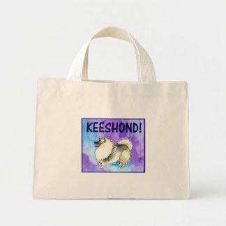 Keeshond Mini Tote Bag