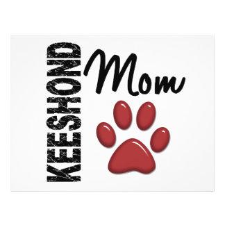 Keeshond Mom 2 Flyer Design