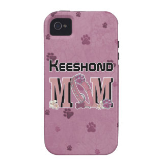Keeshond MOM Vibe iPhone 4 Cases