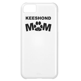 Keeshond Mom iPhone 5C Cases