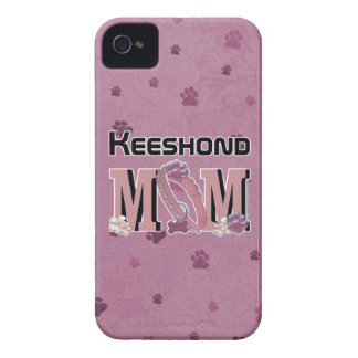 Keeshond MOM Case-Mate iPhone 4 Cases