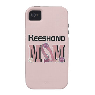Keeshond MOM iPhone 4/4S Case