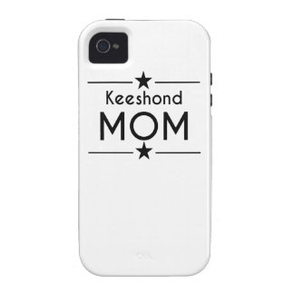 Keeshond Mom Case-Mate iPhone 4 Case