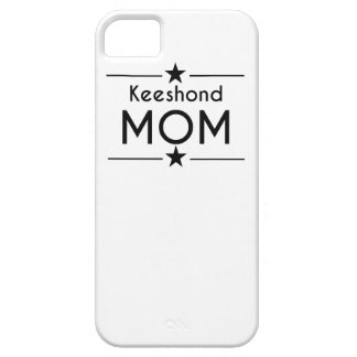 Keeshond Mom iPhone 5 Cases