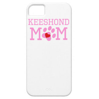 Keeshond Mom iPhone 5 Cover