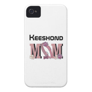 Keeshond MOM iPhone 4 Case-Mate Case