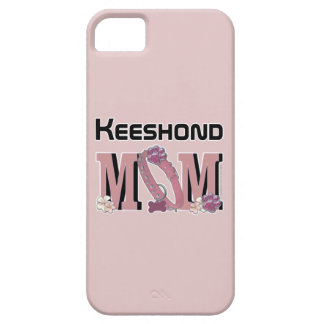Keeshond MOM iPhone 5 Covers