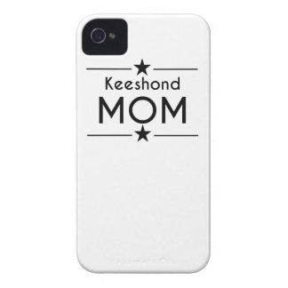 Keeshond Mom iPhone 4 Case