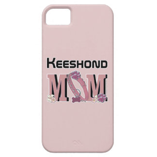 Keeshond MOM iPhone 5 Case
