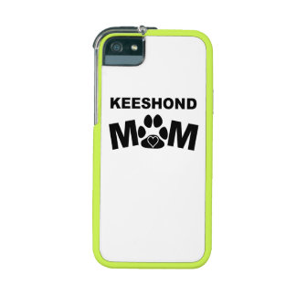 Keeshond Mom Case For iPhone 5/5S