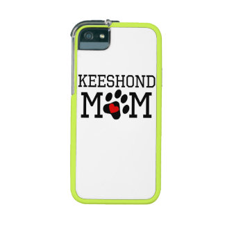 Keeshond Mom iPhone 5/5S Cases
