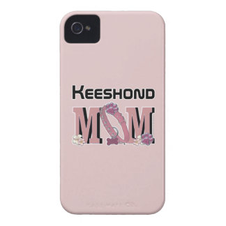 Keeshond MOM iPhone 4 Covers