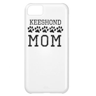 Keeshond Mom (Distressed) iPhone 5C Case