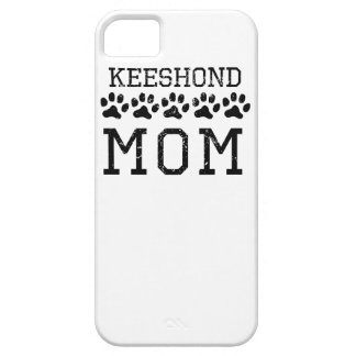 Keeshond Mom (Distressed) iPhone 5 Covers