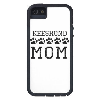 Keeshond Mom (Distressed) iPhone 5 Cases