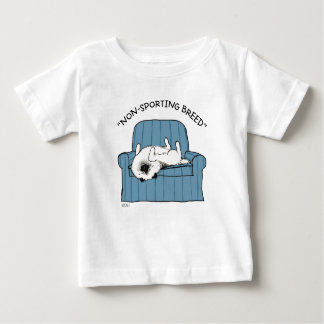 "Keeshond ""Non-Sporting Breed"" Baby T-Shirt"