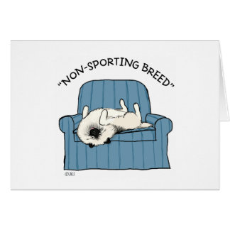"Keeshond ""Non-Sporting Breed"" Card"