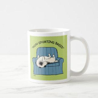 "Keeshond ""Non-Sporting Breed"" Classic White Coffee Mug"