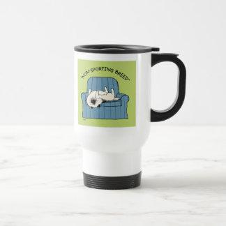 "Keeshond ""Non-Sporting Breed"" Travel Mug"