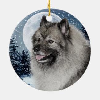 Keeshond Ornament