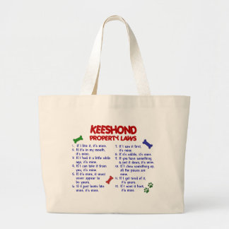 KEESHOND Property Laws 2 Tote Bags