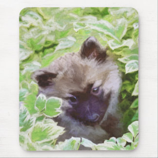 Keeshond Puppy Mouse Pad