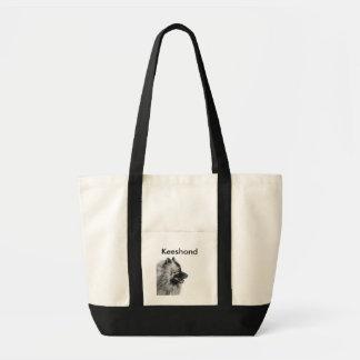 Keeshond Totebag Tote Bags