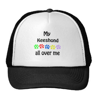 Keeshond Walks Design Hat