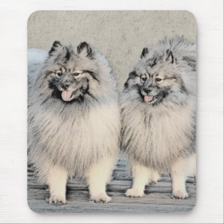 Keeshonds Mouse Pad