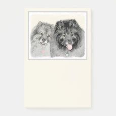 Keeshonds Post-it Notes