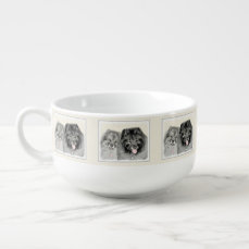 Keeshonds Soup Mug